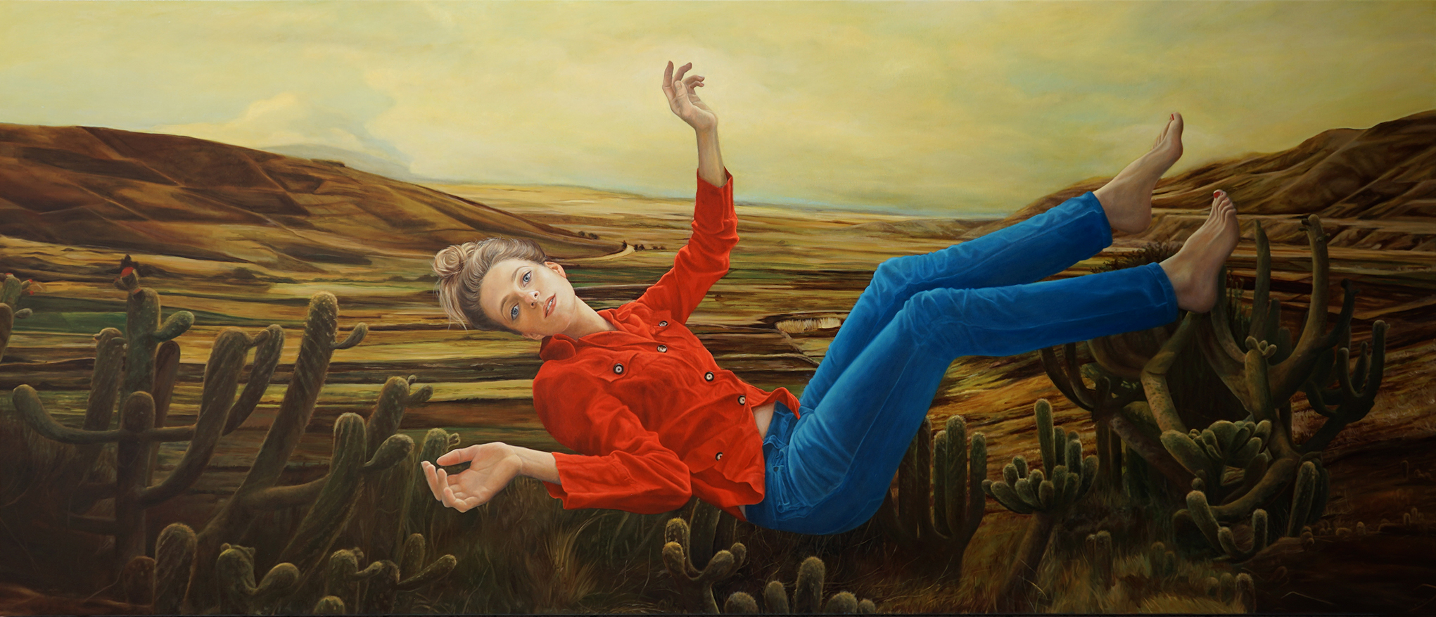 The harvest, 260x110 cm, oil on canvas, 2017